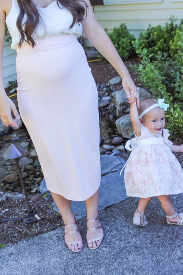 Summer Wedding Guest Maternity Style - my sweet genevieve