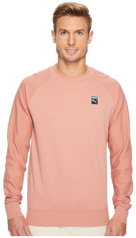 Puma Classics + Crew Men's T Shirt