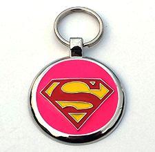 pink super #pet #tag