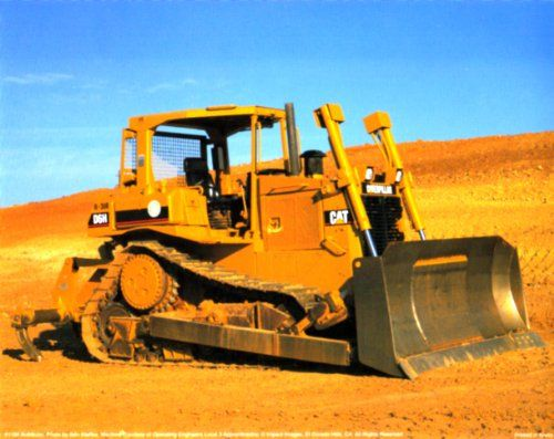 This wonderful Caterpillar Cat D6H bulldozer truck picture wall art print poster is sure to add a unique character to your room setting and goes with all décor style. This poster captures the image of yellow Caterpillar Wheel Loader Dozer loading sand is surely grab lot of attention. It will be a perfect addition to your home and bring character to your entryway, living room or bedroom in an unexpected way.