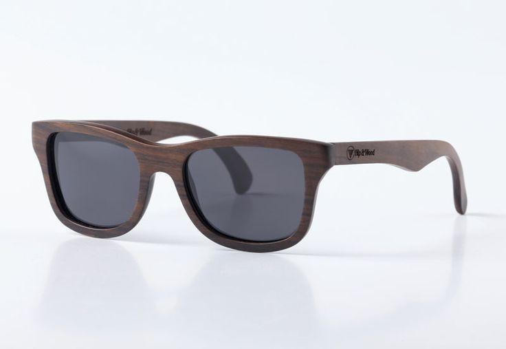 Gafas de madera diseñadas por Hip & Wood.