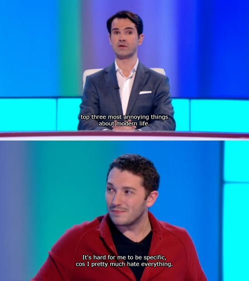 Jon Richardson is the male version of me, lol | 8 Out of 10 Cats