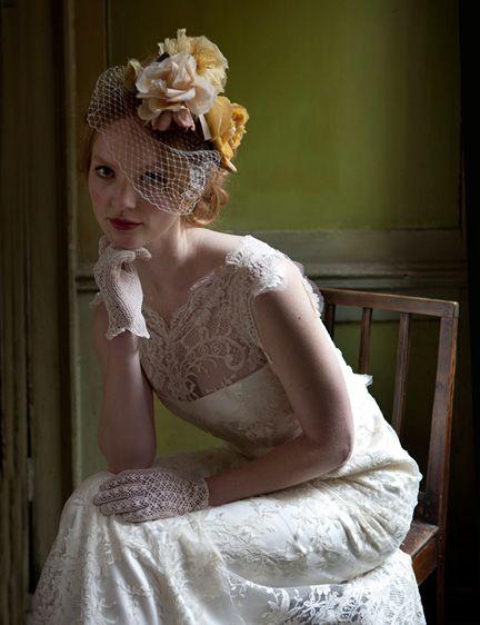 431 best images about hats veils lace on pinterest for Vintage wedding dresses austin