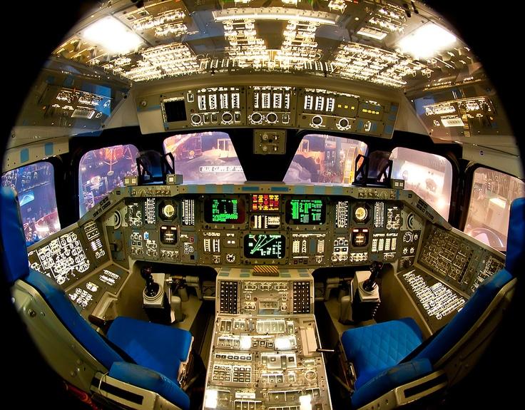 space shuttle original cockpit - photo #19