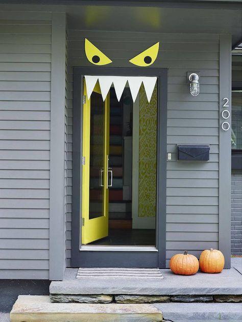 id e d co halloween pour ext rieur et int rieur chic. Black Bedroom Furniture Sets. Home Design Ideas