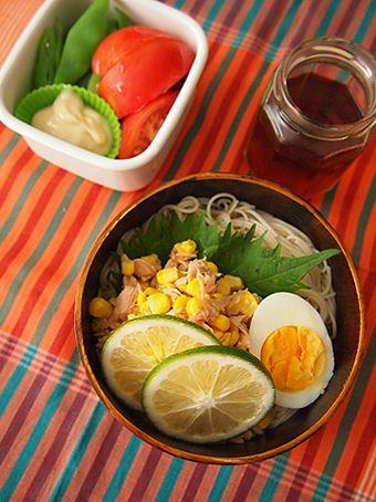 ツナコーンそうめんのお弁当。 by Rouさん | レシピブログ - 料理 ...