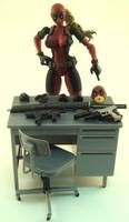 Lady Deadpool Aka Wanda Wilson (Marvel Legends) Custom Action Figure