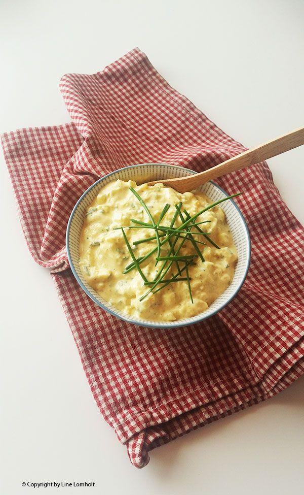 Æggesalat med purløg og karry