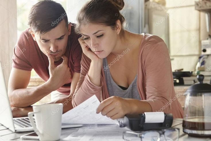 Female And Her Husband Doing Paperwork Stock Photo Aff Husband Female Paperwork Photo Ad Good Credit Score Good Credit What Is Credit Score