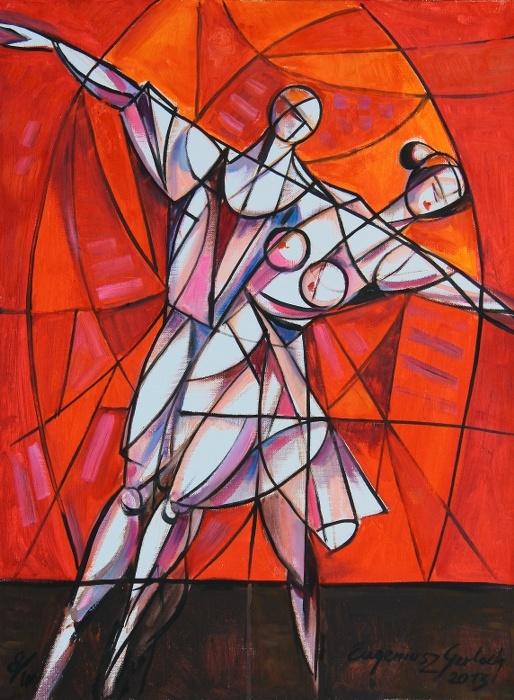 OSiR Tarnowo Podgórne – SPORT A SZTUKA – wystawa malarstwa Eugeniusza Gerlacha | Gerlach Eugeniusz Blog