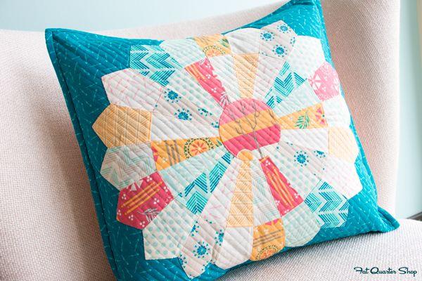 Sundance Dresden Pillow Pattern by Fat Quarter Shop