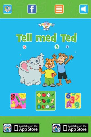 Tell med Ted iPhone/iPad