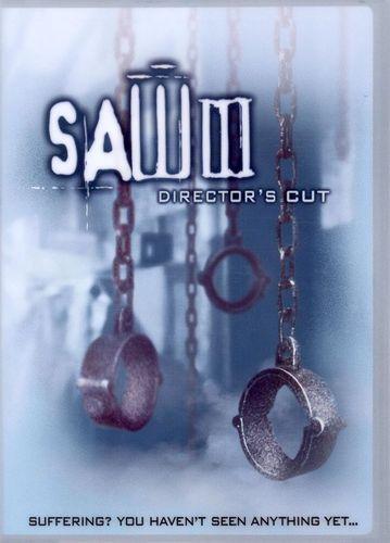 Saw III [Director's Cut] [DVD] [2006]