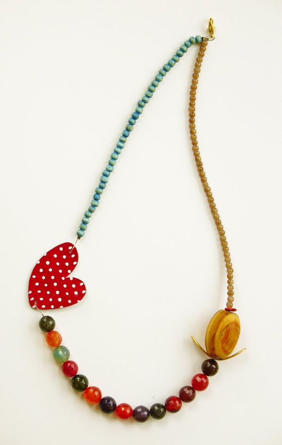 Romantic Hearts Collection - Necklace, by Xanthippe - Studio Creativo