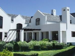 Modern cape dutch house plan in this unique architectural - Architectural home designs in south africa ...