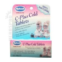 Hylands C-Plus Cold Tablets- Stops runny noses fast!