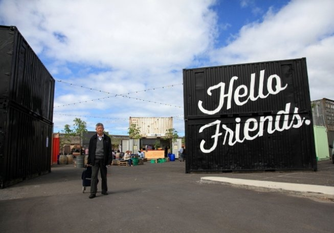 Hello Friends! @ The peoples market, Docklands, VIC