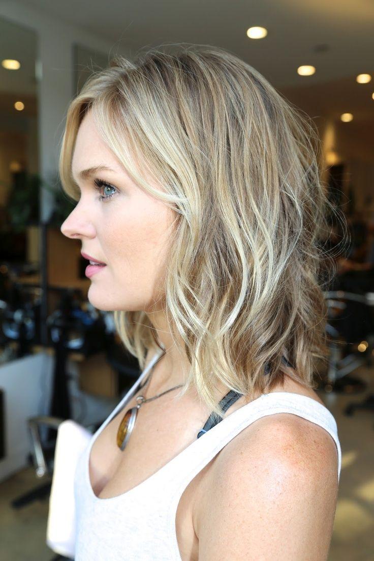 Long Hair Light Ash Brown Natural Highlights Ash Blonde