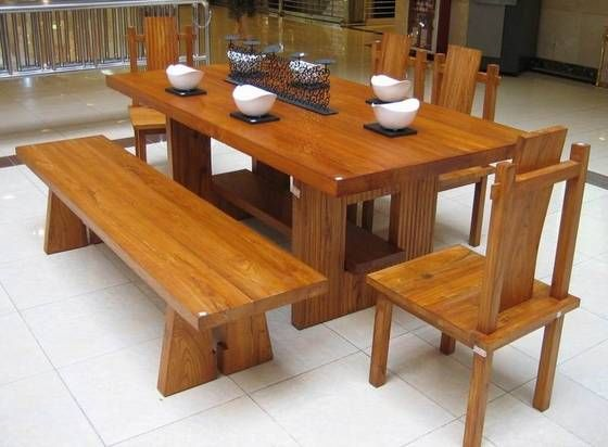 Best + Solid wood furniture ideas on Pinterest  Wood table