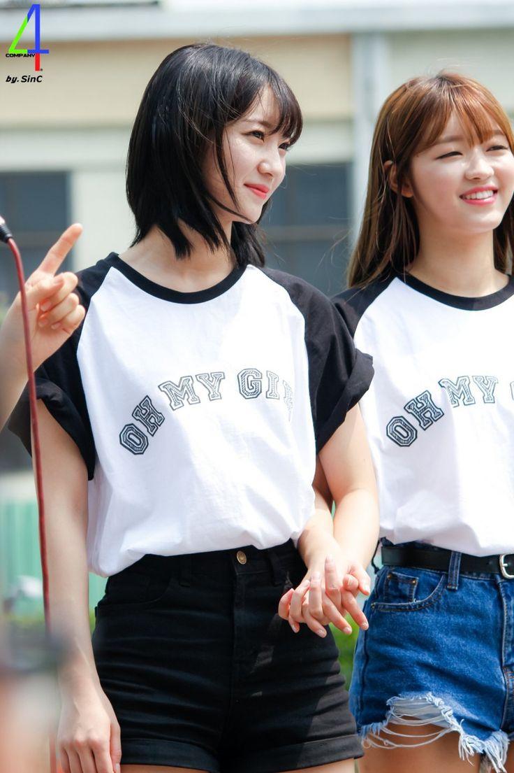 Oh My Girl Binnie and YooA