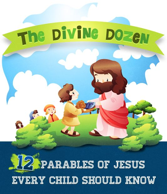 12 Parables of Jesus Every Child Should Know #SundaySchool