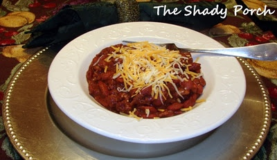 Very, Very Good Chili made with ancho chiles. This is a Rick Bayless recipe!