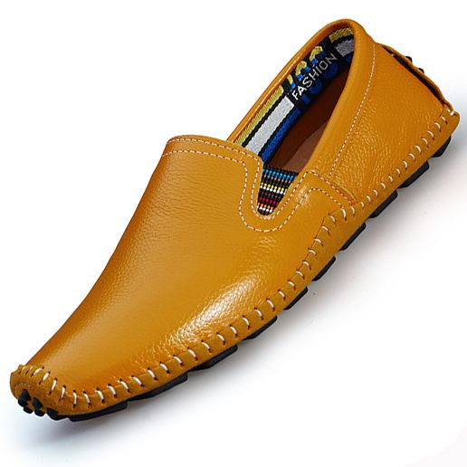 >> Click to Buy << Men Casual Shoes Genuine Leather Shoes Men Flats Shoes Casual Loafers Fashion Moccasins Slip On Mens Driving Boat Shoes Social #Affiliate