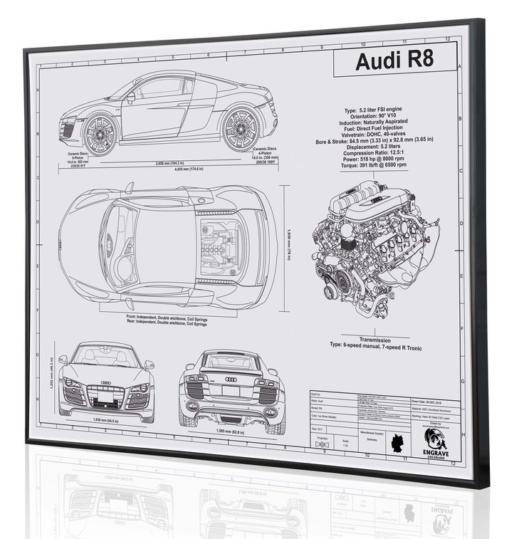 40 best Laser Engraved Plastic-EngraveColorado images on - best of blueprint drawings of audi r8