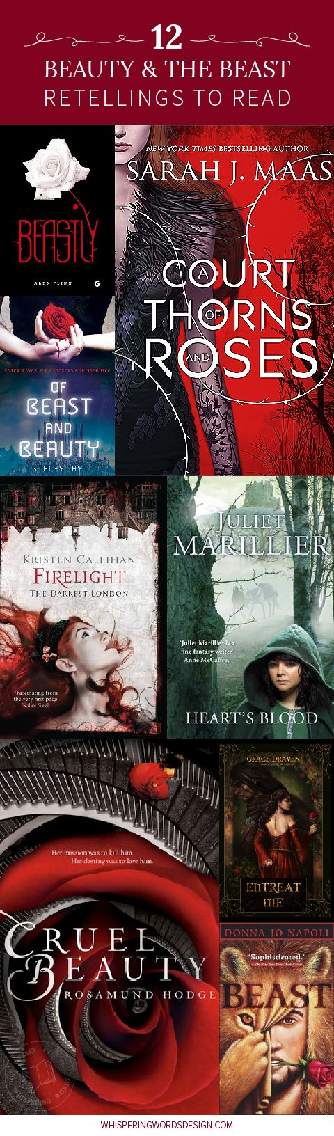 12 Beauty and the Beast Retellings to read before we get to see Emma Watson as Belle