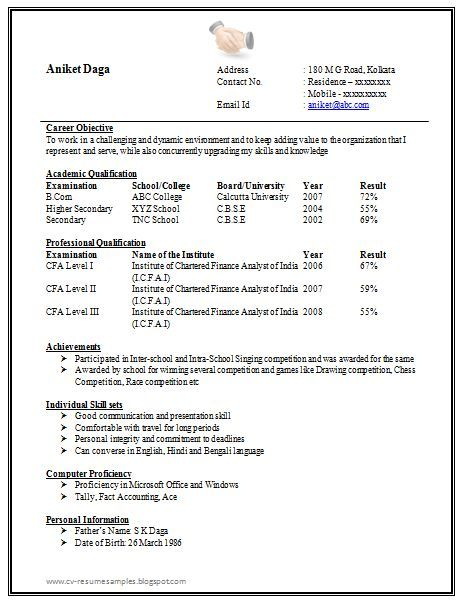 Best 25+ Sample resume format ideas on Pinterest Free resume - resume template for high school student with no experience