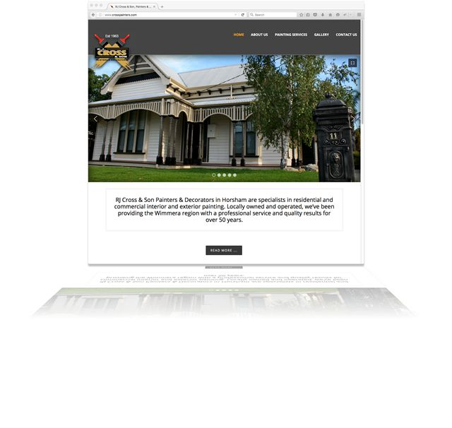 Chad needed a new, stunning website presence that was clean, easy to use and device friendly; http://crosspainters.com/. With so many corporate & residential properties painted with precision, RJ Cross & Son Painters & Decorators now have an online showcase to display their work. Designed, development, content & photography by Phunkemedia www.phunkemedia.com