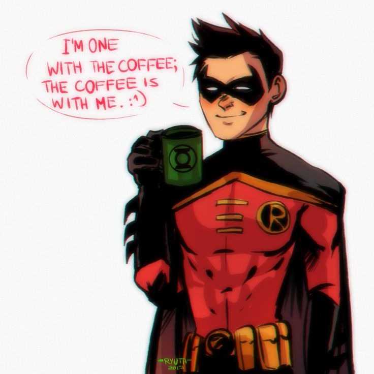 Timbo, no. Red Robin. Tim Drake.