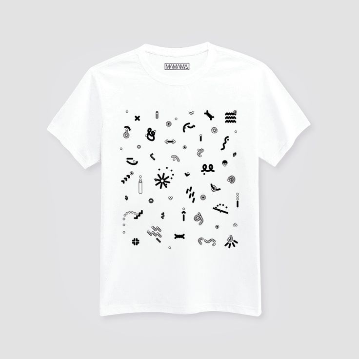 ♂ Stellar T-shirt (by Camille Legrand) - White via MAMAMA.