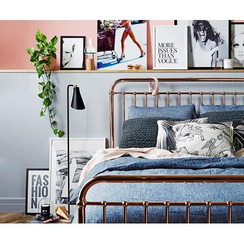 Give your bedroom a sartorial edge