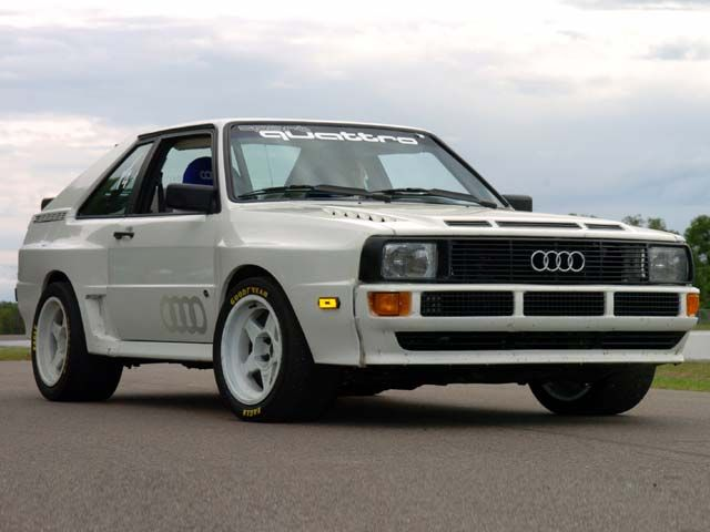 A classic from the 80's, Audi Quattro Sport