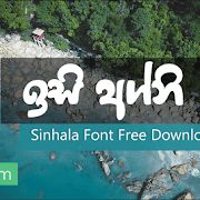 Download Sinhala Font Pack New - ( 14 Font ) (With images ...