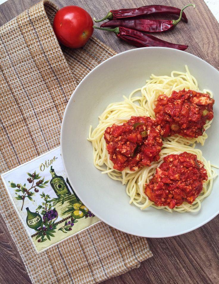 Veggie Spaghetti Bolognese