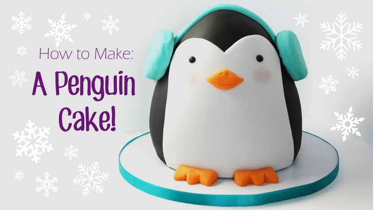 How to Make a Penguin Cake by Happy Cake By Renee (HappyCakesBakes)