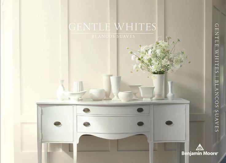 14 best images about gentle whites on pinterest for Benjamin moore pristine