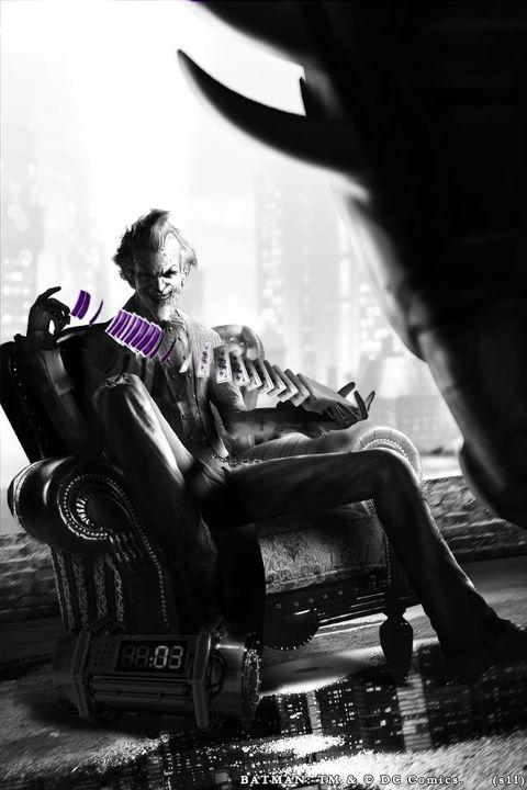 Joker Concept Art: Batman Arkham City Community