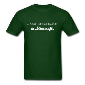I need this shirt. #Minecraft #Want #Clothes