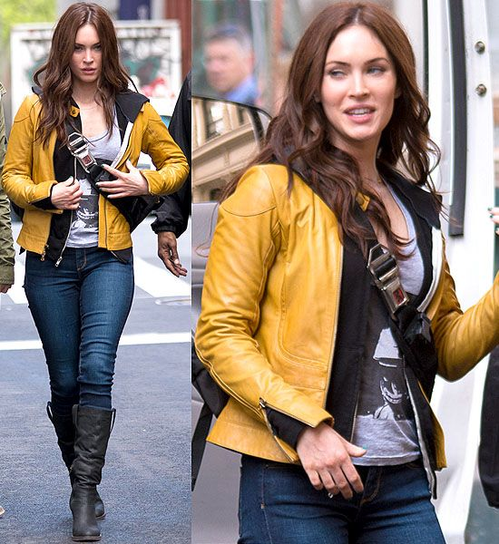 teenage mutant ninja turtles movie megan fox | Megan Fox as TMNT's April O'Neil Ditches the Yellow Jumpsuit for a ...