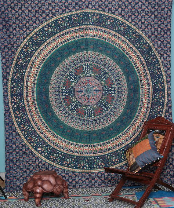 Mandala Tapestry Wall Hangings view more amazing Indian Tapestry