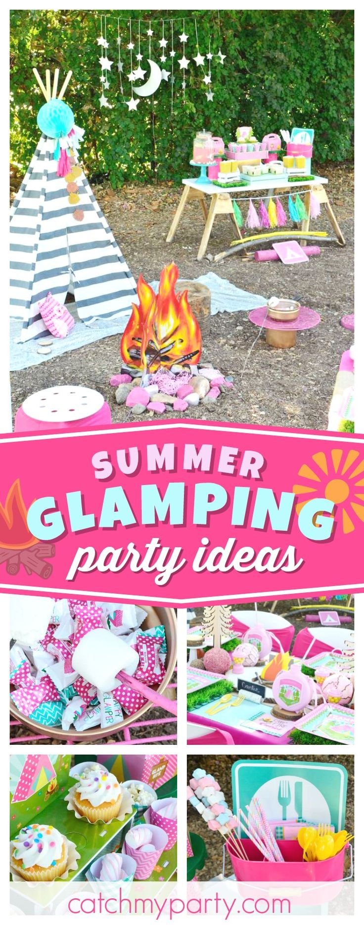 386 best party camping images on pinterest camping parties