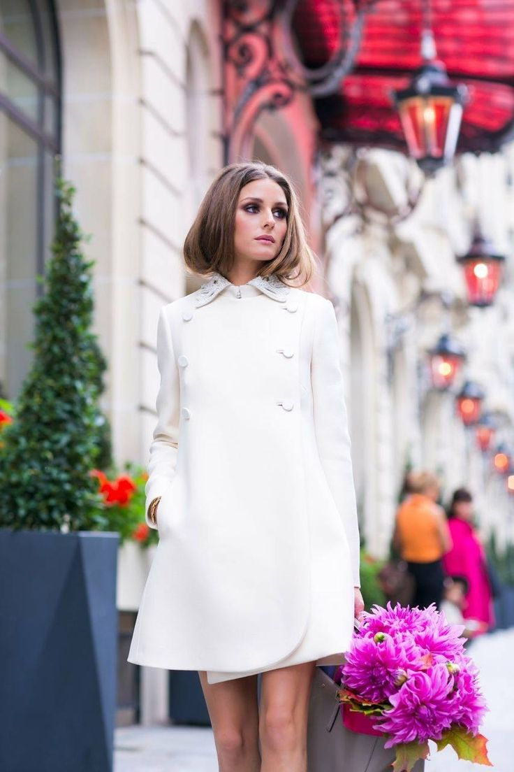 Olivia Palermo in Paris.....