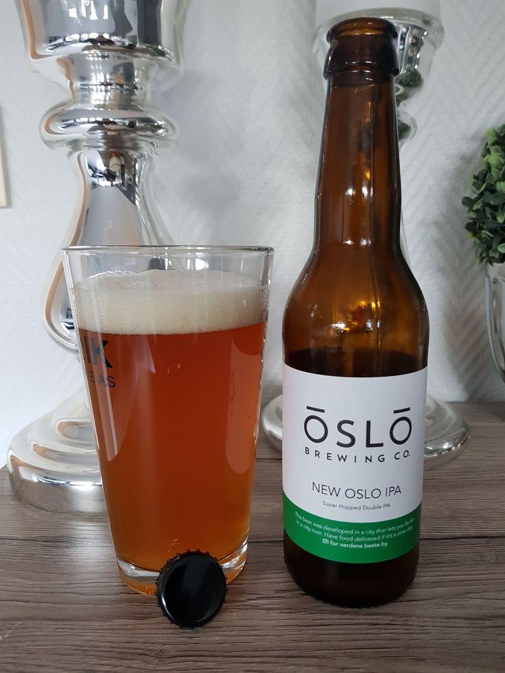 New Oslo IPA by Oslo Brewing Company