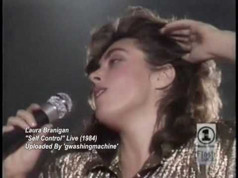 Laura Branigan - Self Control (Live) - YouTube