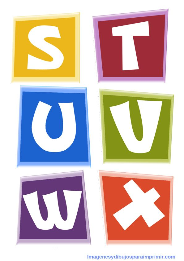 s,t,u,v,w,x de pocoyo