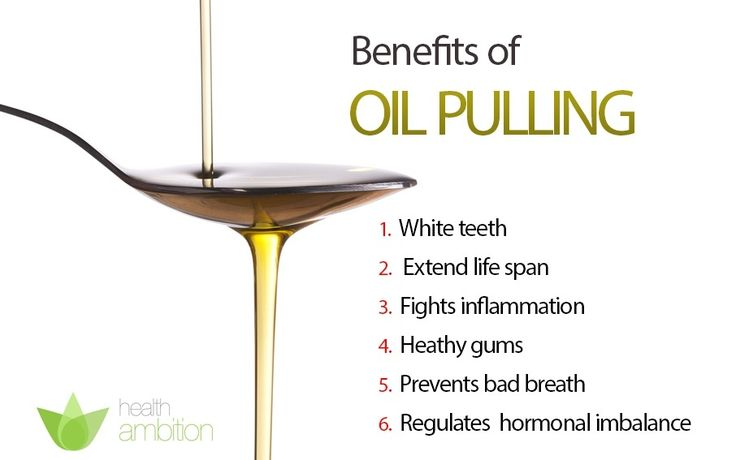What is oil pulling and does it work ? The results you can expect