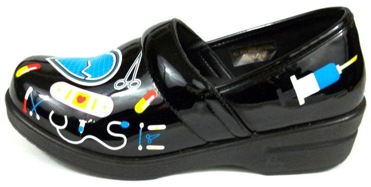Nurse Uniform Clogs Womens Size 8.5 M Rasolli Occupational First Aid Shoes New #Rasolli #NursingUniform
